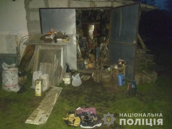 Снаряди, запали та набої: результати проведення санкціонованого обшуку у Турійському районі